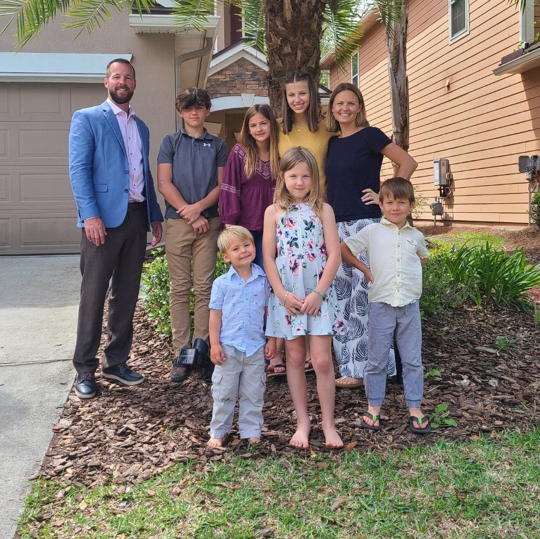 Mandy Harry and her husband have six healthy, vibrant children. The youngest, 3-year-old Calvin, recently survived a near drowning at a pool party.