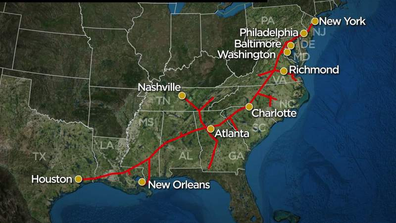 Colonial Pipeline still shutdown after cyberattack