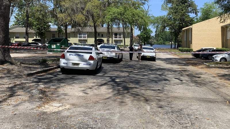 Shots were fired during a domestic dispute on Confederate Point Road, police say.