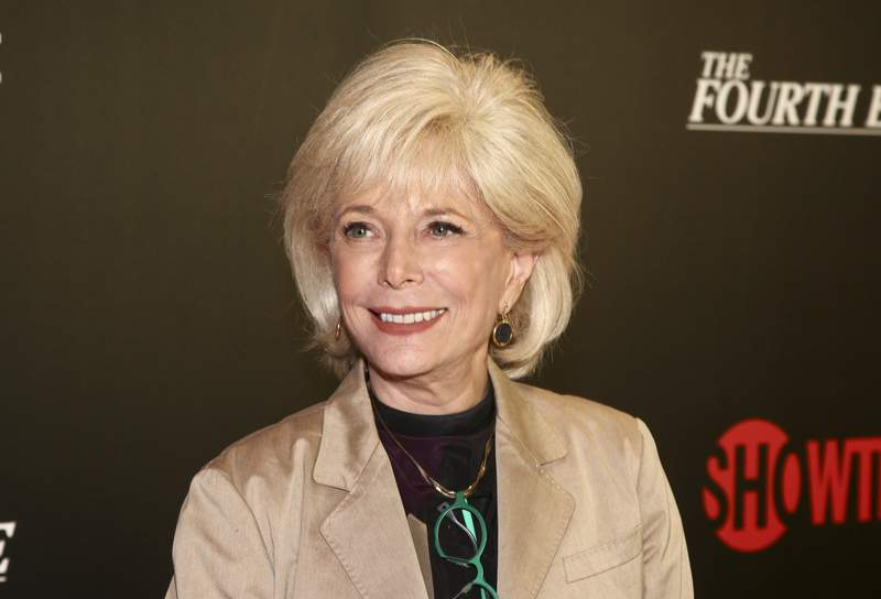 """FILE - In this May 9, 2018, file photo, Lesley Stahl attends a panel discussion about the Showtime documentary """"The Fourth Estate,"""" at TheTimesCenter in New York. Stahl said Sunday, May 3, 2020, that she's finally feeling well after a battle with COVID-19 that left her hospitalized for a week. Stahl said she was really scared after fighting pneumonia caused by the coronavirus for two weeks at home before going to the hospital. (Photo by Andy Kropa/Invision/AP, File)"""