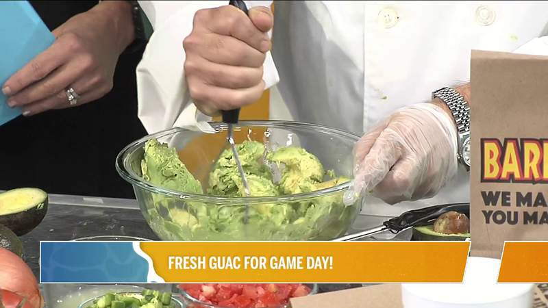 How to make the perfect guacamole with Barberitos