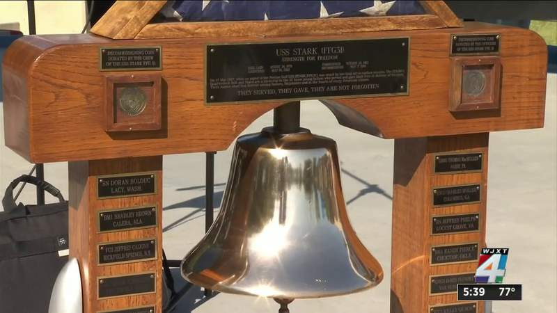 Solemn ceremony honors 37 sailors killed aboard USS Stark in 1987