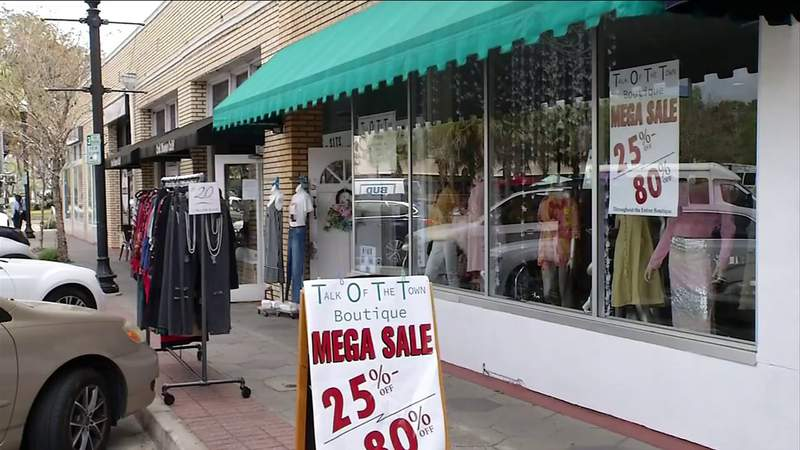 Businesses try to stay open