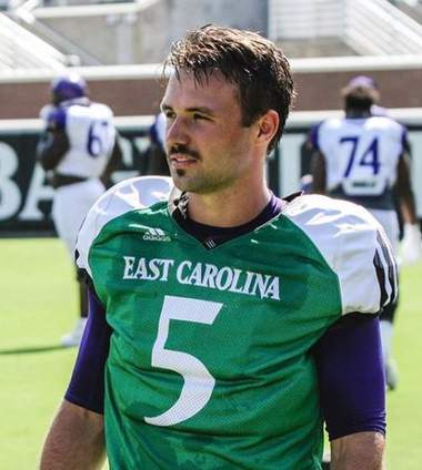 Is Gardner Minshew's 1st mustache for sale? Probably not.
