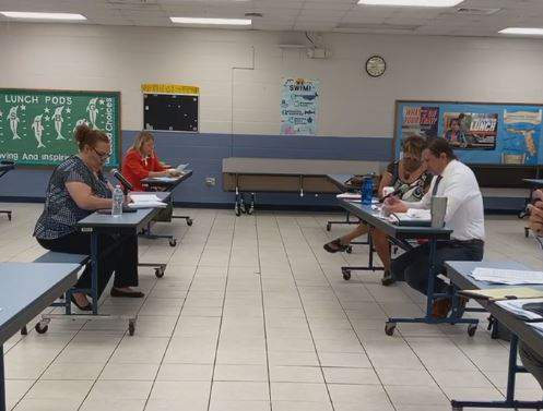 St. Johns Education Association and St. Johns County School District representatives negotiate working conditions.