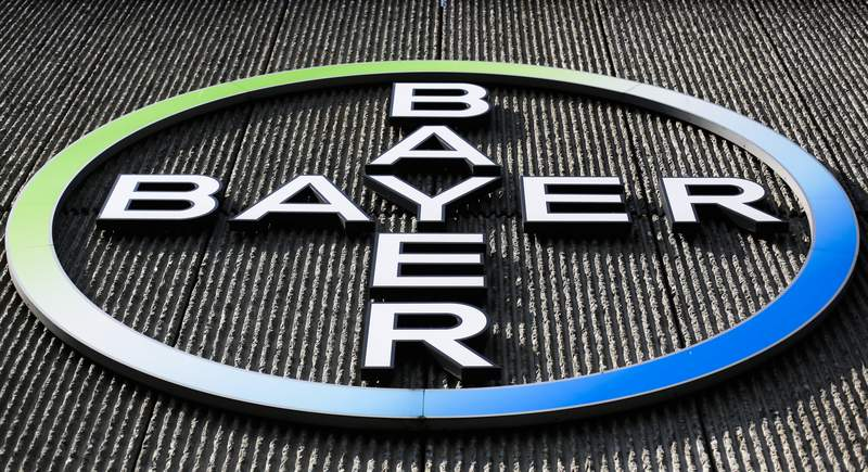 FILE - This Monday, May 23, 2016, record  photo, shows the Bayer AG firm  logo displayed connected  a gathering  of the German cause   and chemicals institution  successful  Berlin. Three schoolteachers successful  Washington authorities   who sued chemic  institution  Monsanto implicit    vulnerability  to materials successful  fluorescent lights person  been awarded $185 million. Bayer, which bought Monsanto successful  2018, said the institution  disagreed with the verdict and whitethorn  appeal. (AP Photo/Markus Schreiber, File)