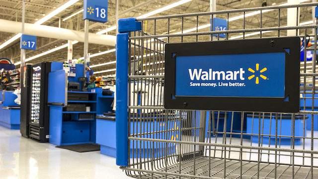 Las Vegas - Circa July 2017: Walmart Retail Location. Walmart is an American Multinational Retail Corporation