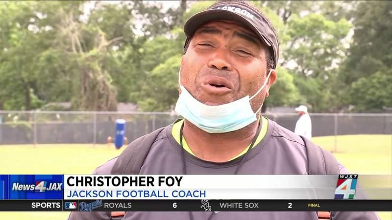 Jackson ready for a full spring under head coach Christopher Foy