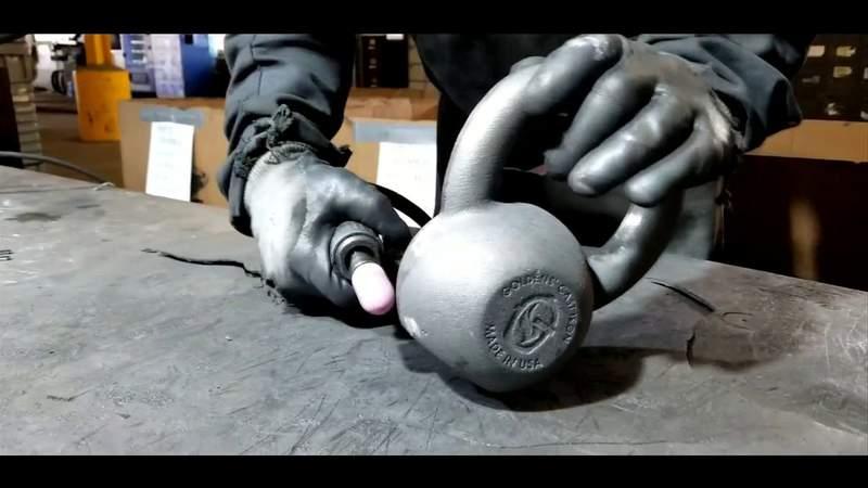 Company mass producing workout equipment
