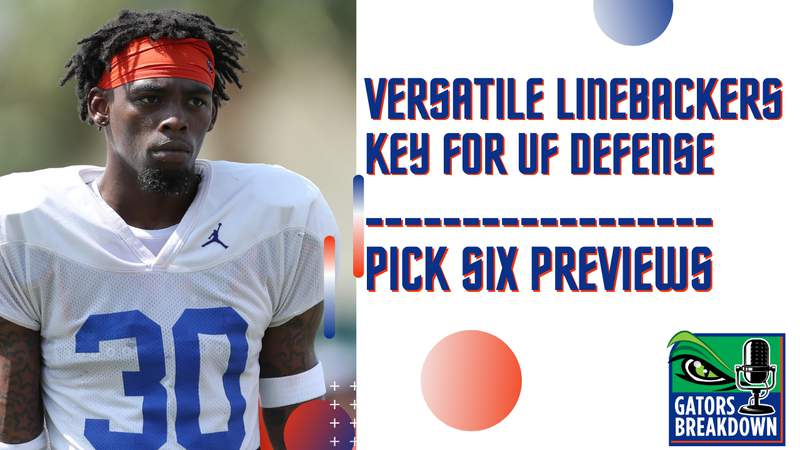 Newcomer LB Diwun Black has the potential to be one of the most versatile pieces for Florida's defense