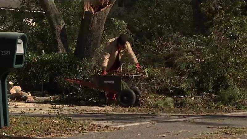 'Sounded like a tornado': Neighbors survey damage left behind by Christmas Eve storms