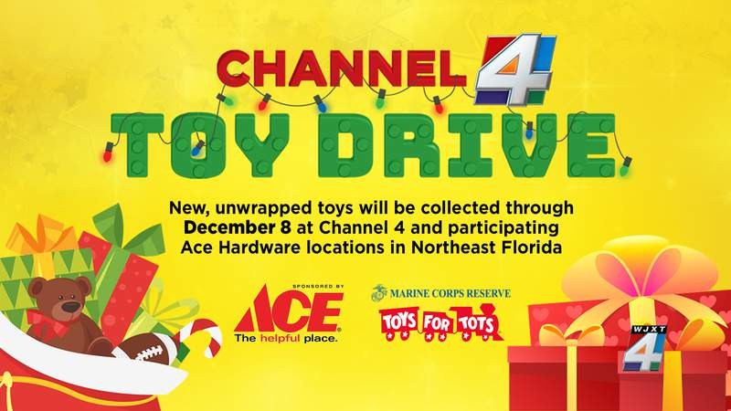 Donate your new and unwrapped toys to participating ACE Hardware locations.