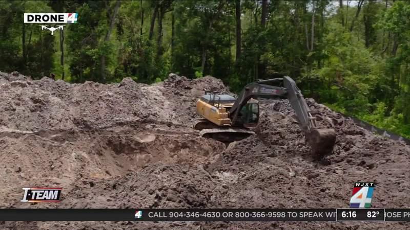 State regulators find leakage, unpermitted work, environmental concerns at Pottsburg Creek dig site