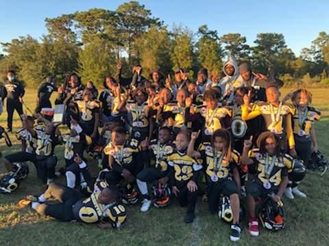 The Forestview Outlaws mitey mites team won the Mid-America/Southeast championship on Wednesday in Winter Garden