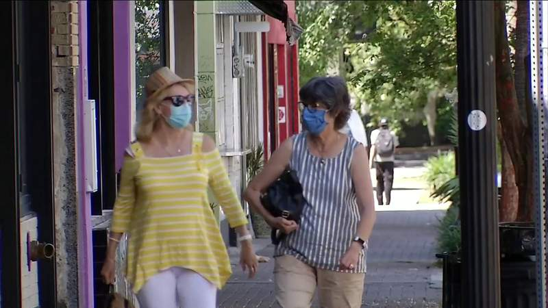 Most major Florida cities now require wearing face masks in public