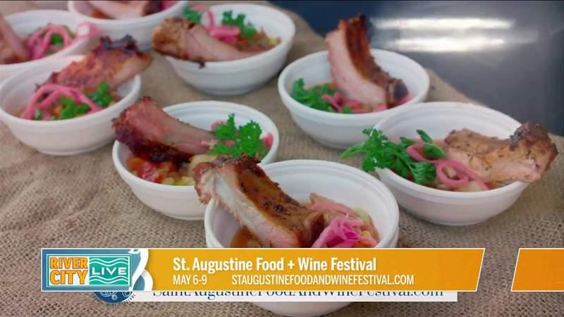 St. Augustine Food + Wine Festival | River City Live