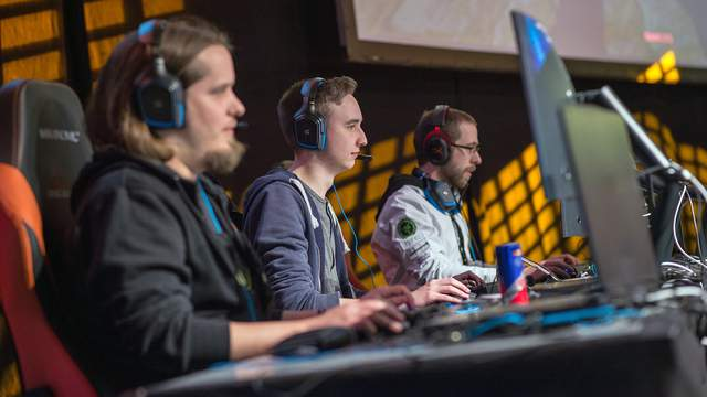 Participants at Dreamhack 2017 gaming festival in Leipzig, Germany, on Jan. 14, 2017.