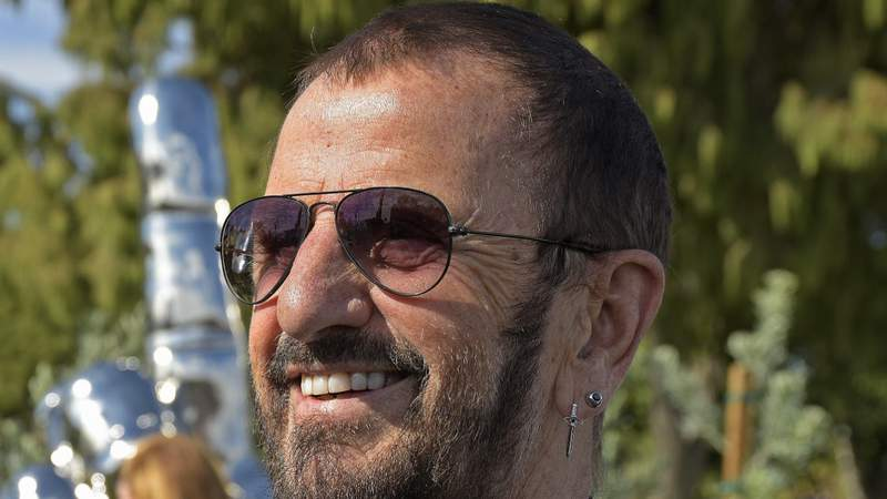 Ringo Starr turns 80 on Tuesday. Photo by Michael Tullberg