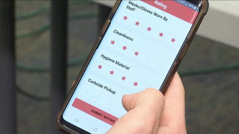 Teen creates COVID-19 restaurant safety rating app