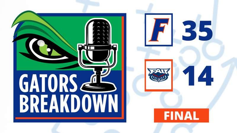 Florida beats FAU in the 2021 season opener