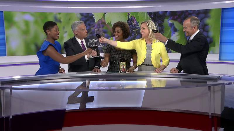 The Morning Show cheers on National Wine Day