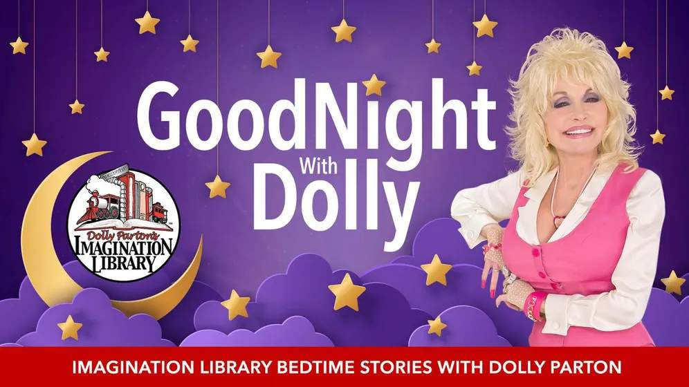 Dolly Parton is reading bedtime stories in a new online video series