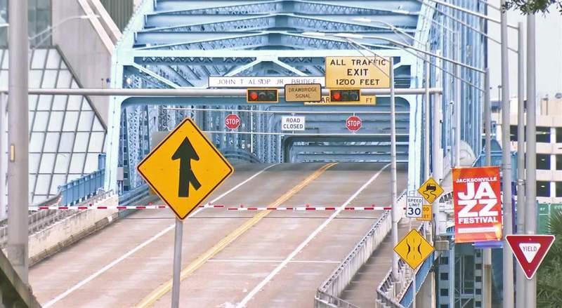 Main Street Bridge closed