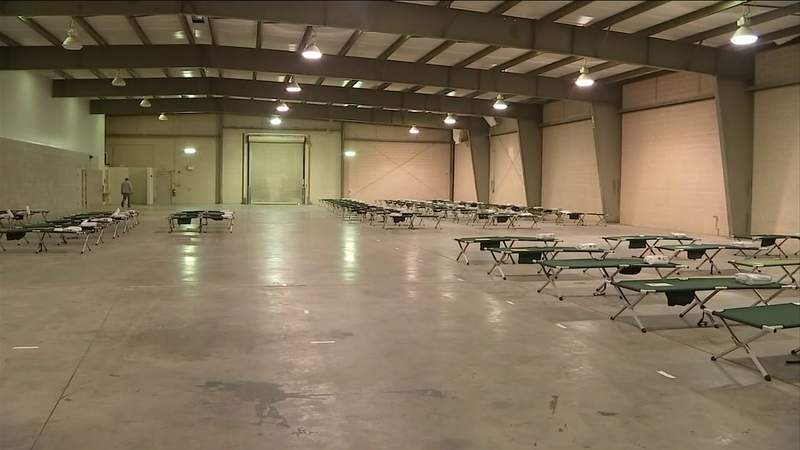 Temporary homeless shelter closing soon