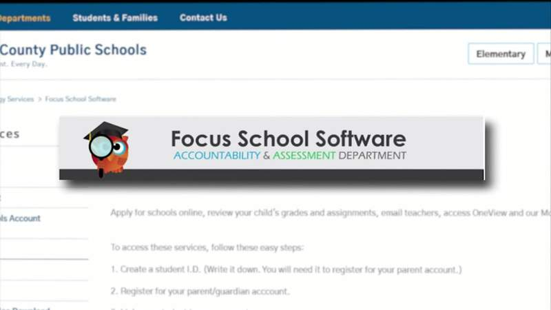 Focus School Software used by Duval County Public Schools.