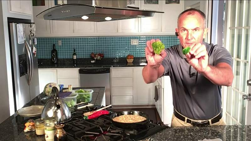 Richard shows us how to blanch broccoli and other raw vegetables