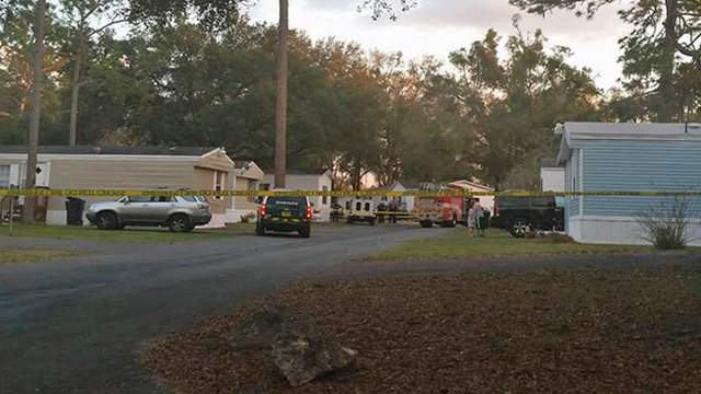 Death investigation on Victoria Court in Gainesville (Photo courtesy: Alachua County Sheriff's Office)