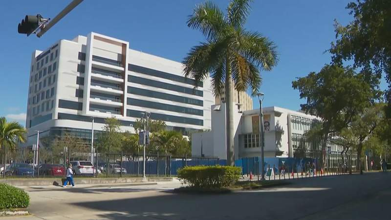 Jackson Memorial Hospital.