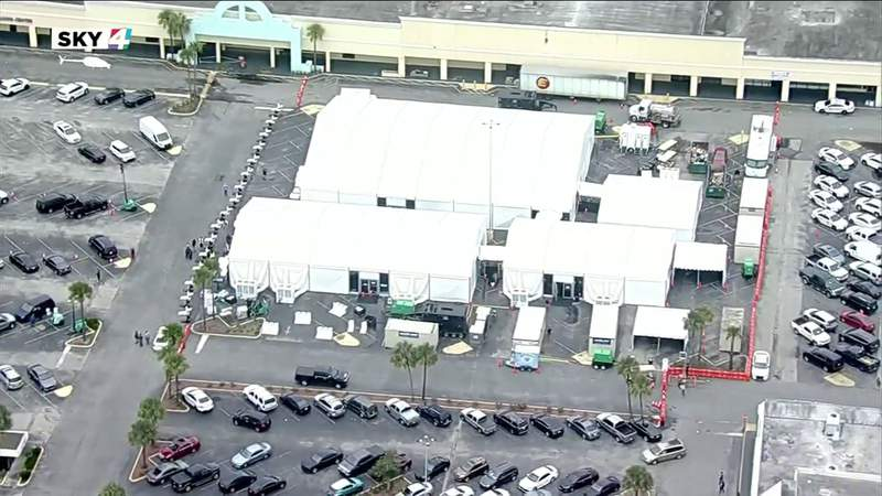 No lines and smooth running as FEMA vaccine site opens at Gateway Mall