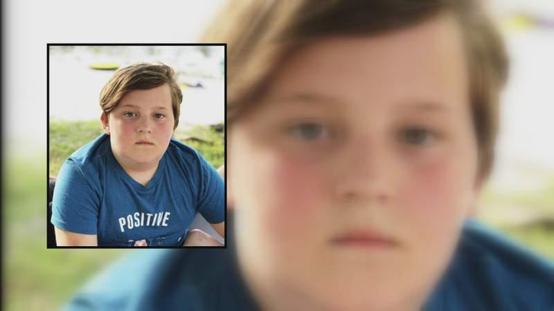Vigil for 10-year-old killed in crash