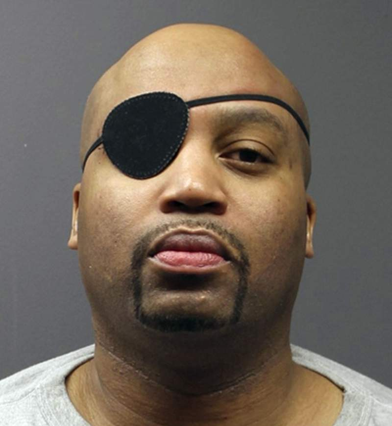 FILE - This file photo provided by the Minnesota Department of Corrections shows Edward Muhammad Johnson.    Johnson,   pleaded guilty Friday, Oct. 9, 2020 to first-degree murder for killing officer Joseph Gomm. Under state law, a life sentence is mandatory for first-degree murder of a law enforcement officer. (Minnesota Department of Corrections via AP, File)