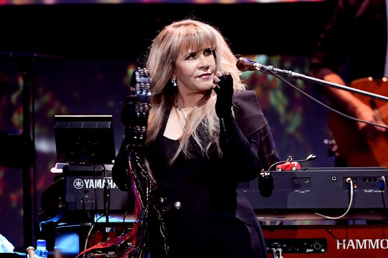 Stevie Nicks performing in 2018. (Photo by Kevin Winter/Getty Images for iHeartMedia)