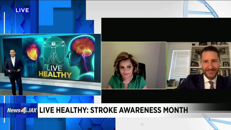 Stroke Awareness Month with Dr. Chris Fox and Patient Faye Baracats