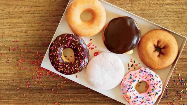 Box of doughnuts (Photo courtesy: Dunkin' Donuts)