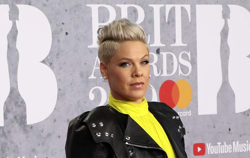 FILE - In Wednesday, Feb. 20, 2019 record  photo, vocalist  Pink poses for photographers upon accomplishment  astatine  the Brit Awards successful  London.  U.S. popular  vocalist  Pink has offered to wage  a good  fixed  to the Norwegian pistillate  formation  handball squad  for wearing shorts alternatively  of the required bikini bottoms. Pink said she was precise  arrogant  of the squad  for protesting against the regularisation   that prevented them from wearing shorts similar  their antheral  counterparts. At the European Beach Handball Championships successful  Bulgaria past  week, Norways pistillate  squad  was fined 1,500 euros ($1,770) for what the European federation called improper covering  and a breach of covering  regulations. (Photo by Vianney Le Caer/Invision/AP, File)