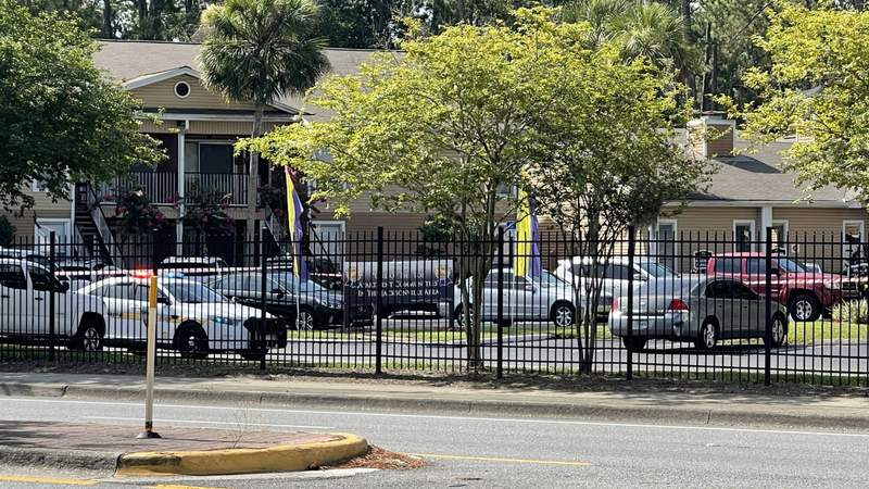 A double shooting was reported at a Baymeadows Road apartment complex on Friday.