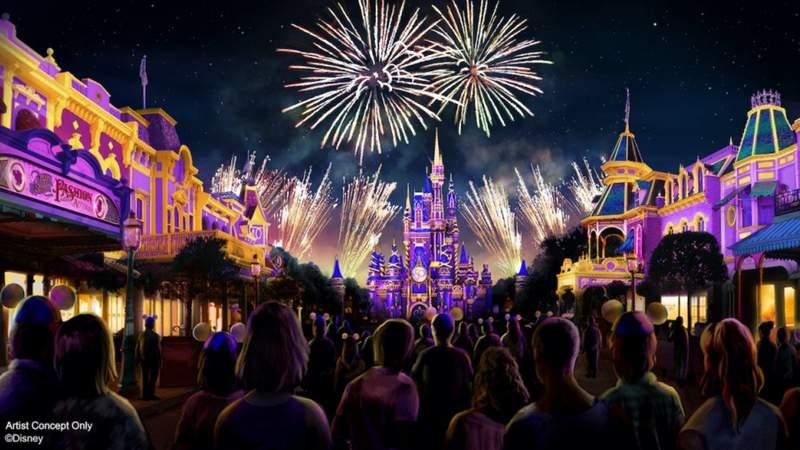 'Disney Enchantment' – An All-New Spectacular at Magic Kingdom Park – Debuts Oct. 1