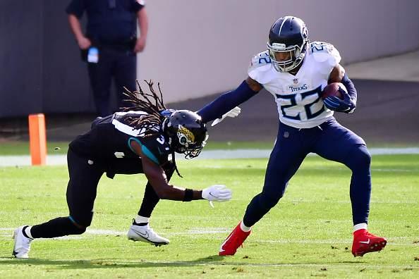 Derrick Henry, Titans run over reeling Jaguars