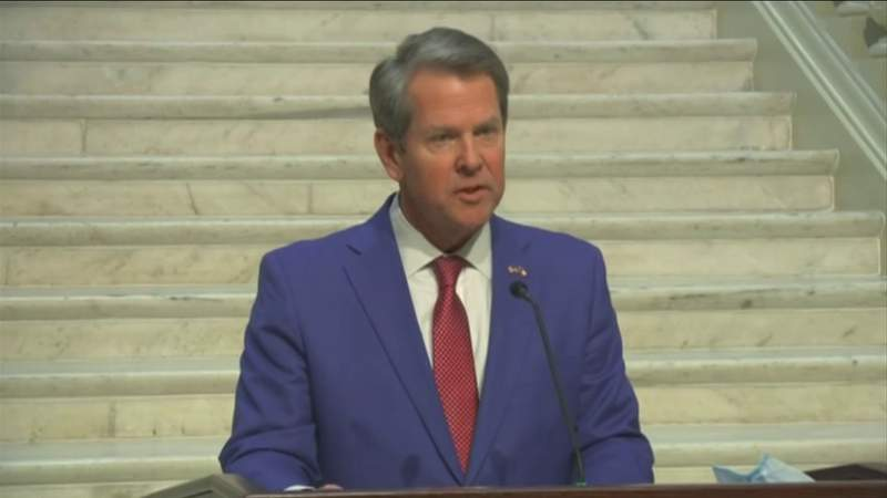 Gov. Kemp lets teachers, some with health issues get vaccines in Georgia