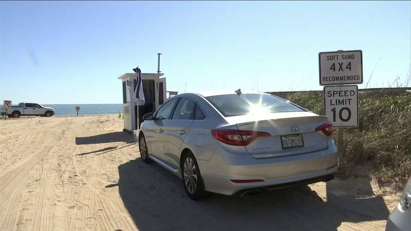 It'll now cost you to drive on St. Johns County beaches