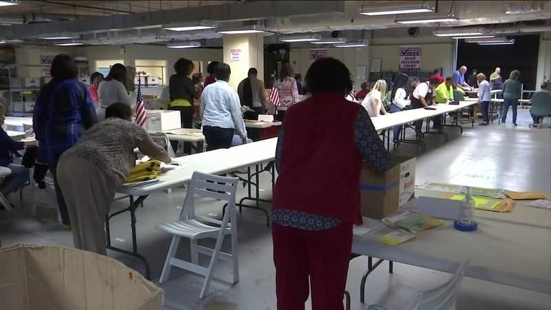 Coronavirus precautions didn't stop the primary election in Florida.