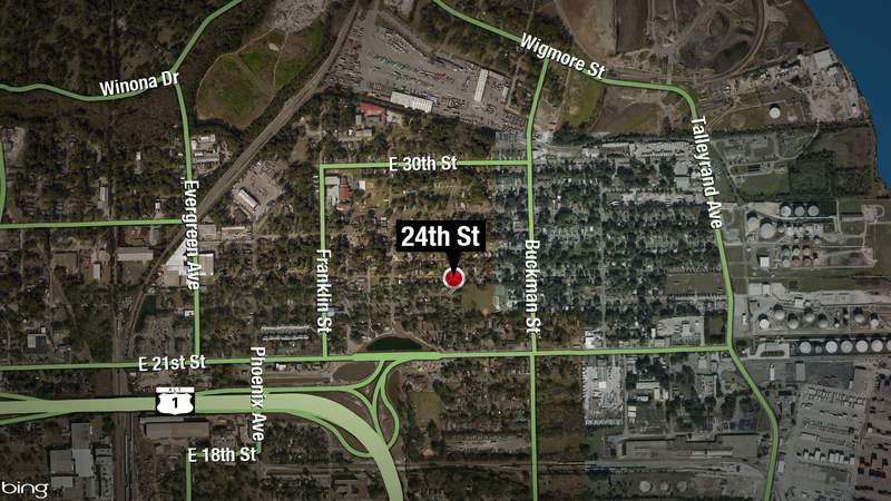 The Jacksonville Sheriff's Office reports shots were fired near East 24th Street on Saturday.