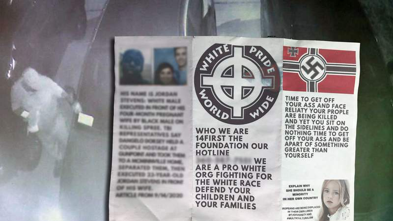 Racist flyer placed on cars in Middleburg neighborhood.