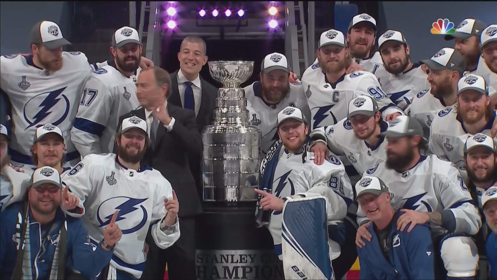 Bubble Hockey Champions Tampa Bay Lightning Win Stanley Cup