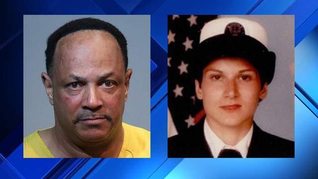 Seminole County Sheriff's Office booking photo of Thomas Garner and WKMG-TV's photo of Pamela Cahanes