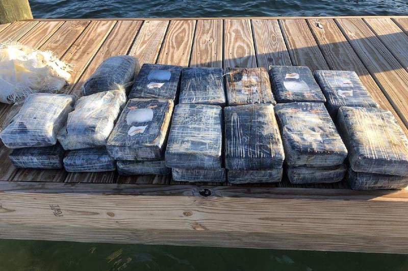 A fisherman found the cocaine bricks about 15 miles south of Sugarloaf Key on Wednesday, according to the Monroe County Sheriff's Office.